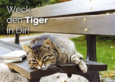 Wecke den Tiger in dir.